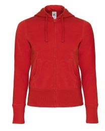 Hoodies B&C Full Zip Dames
