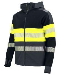 Vest, Softshell. Heren ISO 20471 KLASSE 1