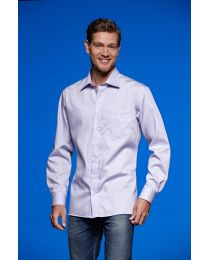 Overhemd James & Nicholson lang hemd Easy-Care
