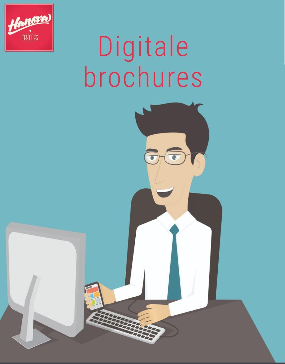 Digitale brochures Hanova Textiles, kleding webshops